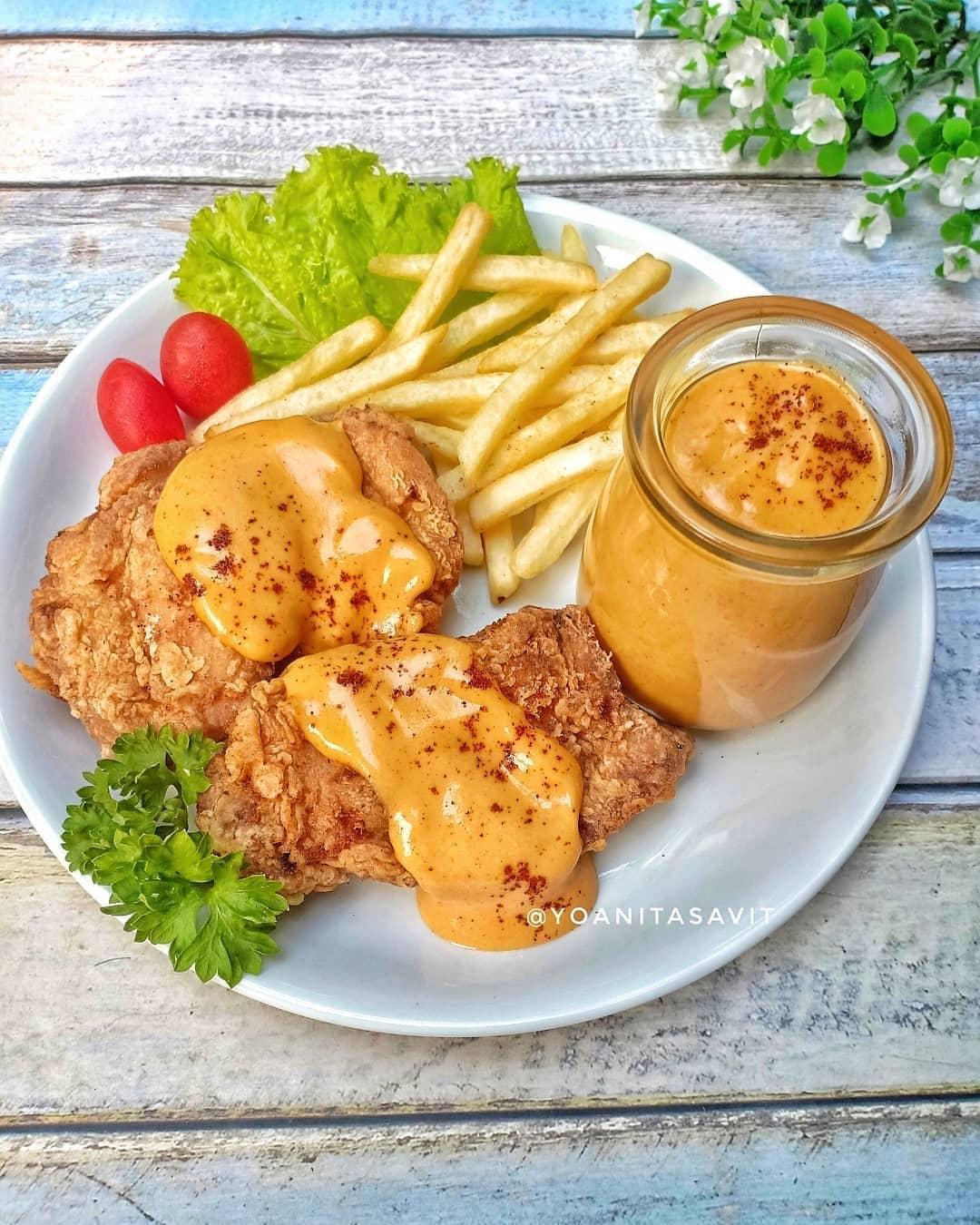 Ayam Goreng SausKeju