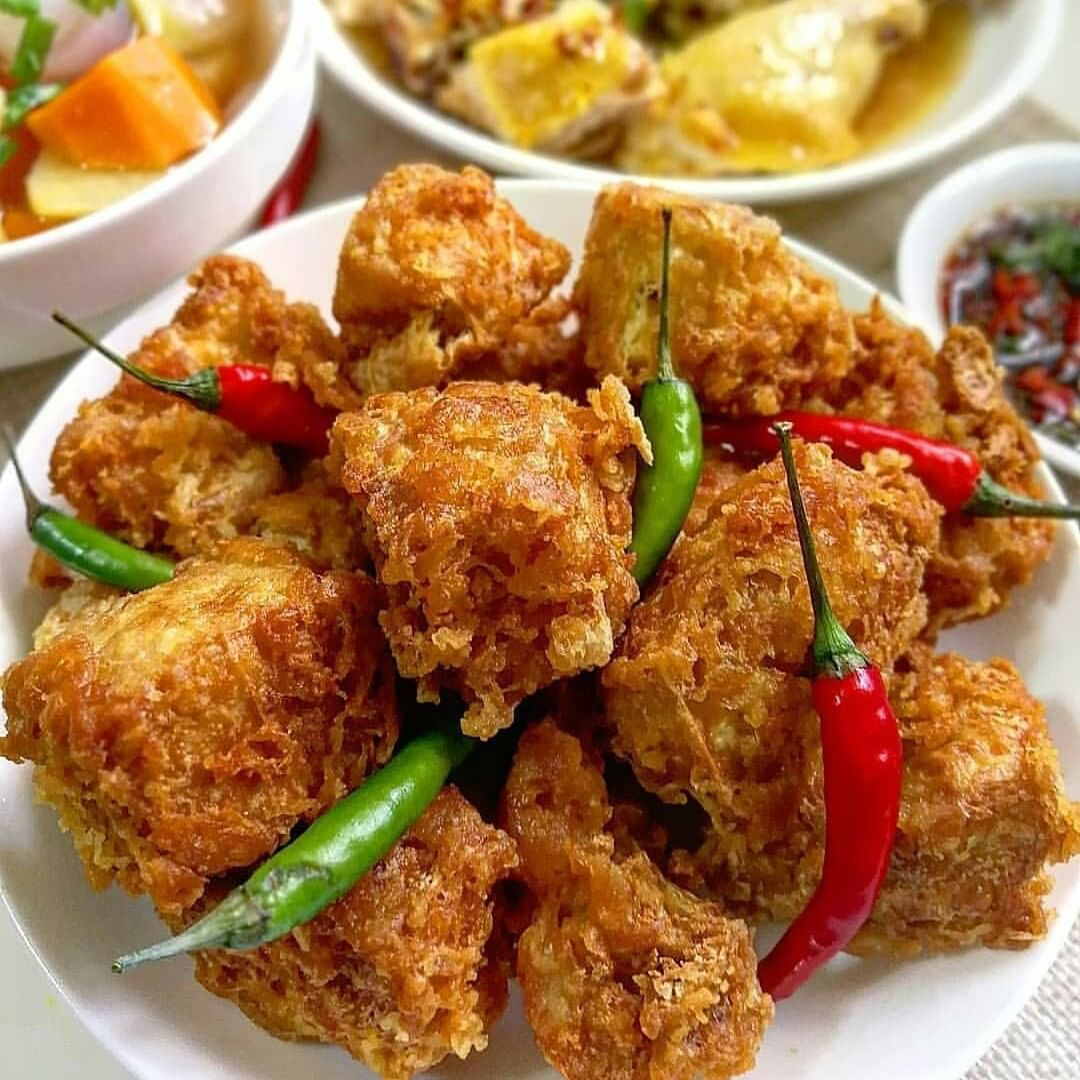 Tahu Goreng Crispy / Crispy FriedTofu