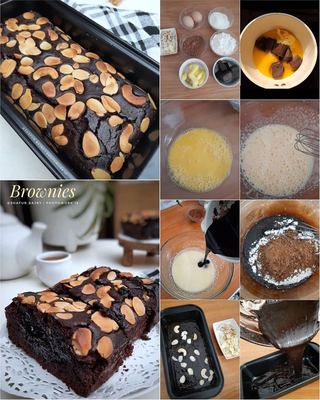 BROWNIES PANGGANG