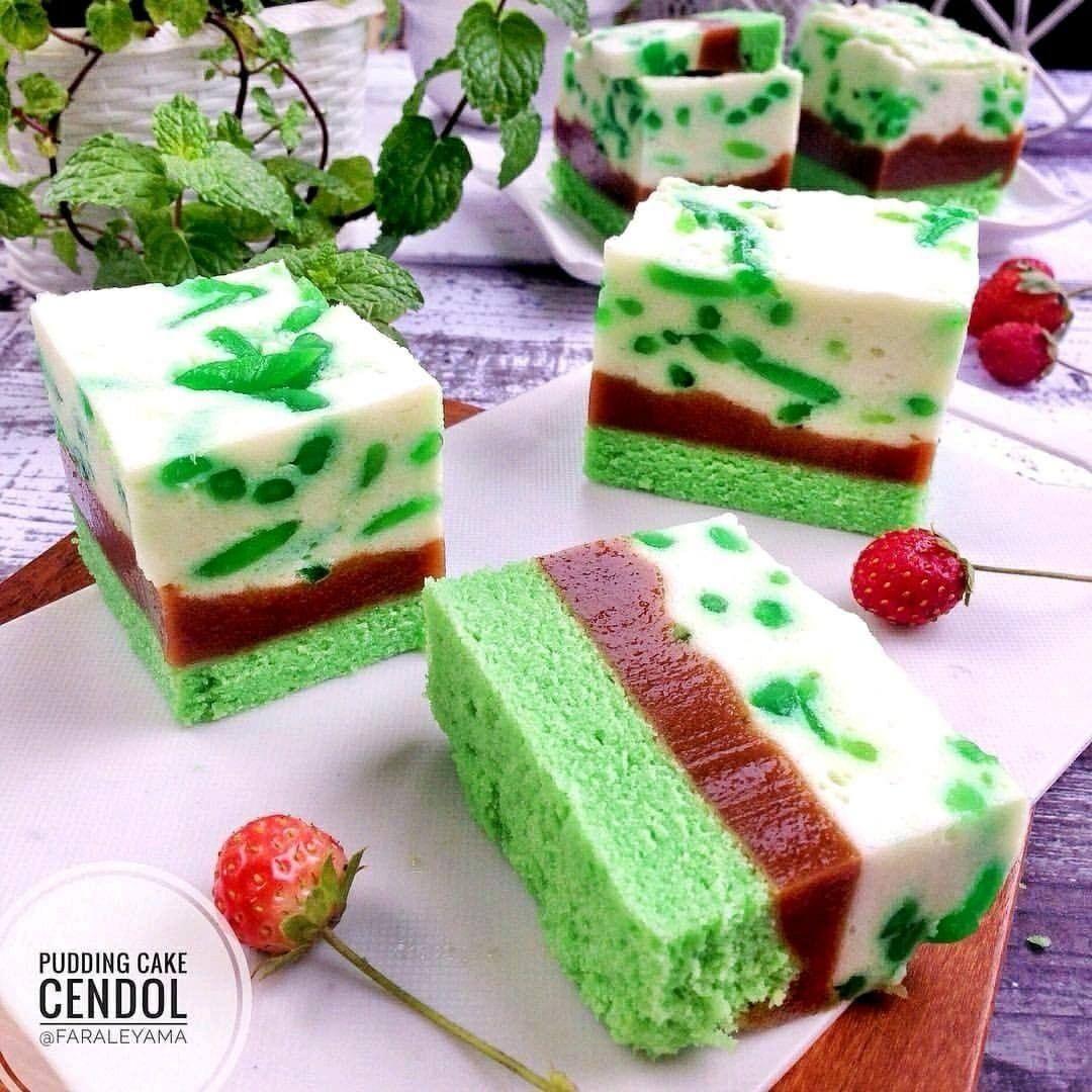 Pudding Cake Cendol