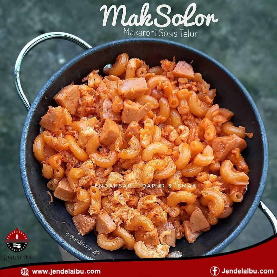 MAKSOLOR (Egg SausageMacaroni)