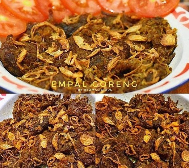 Fried Empal Gepuk⁣