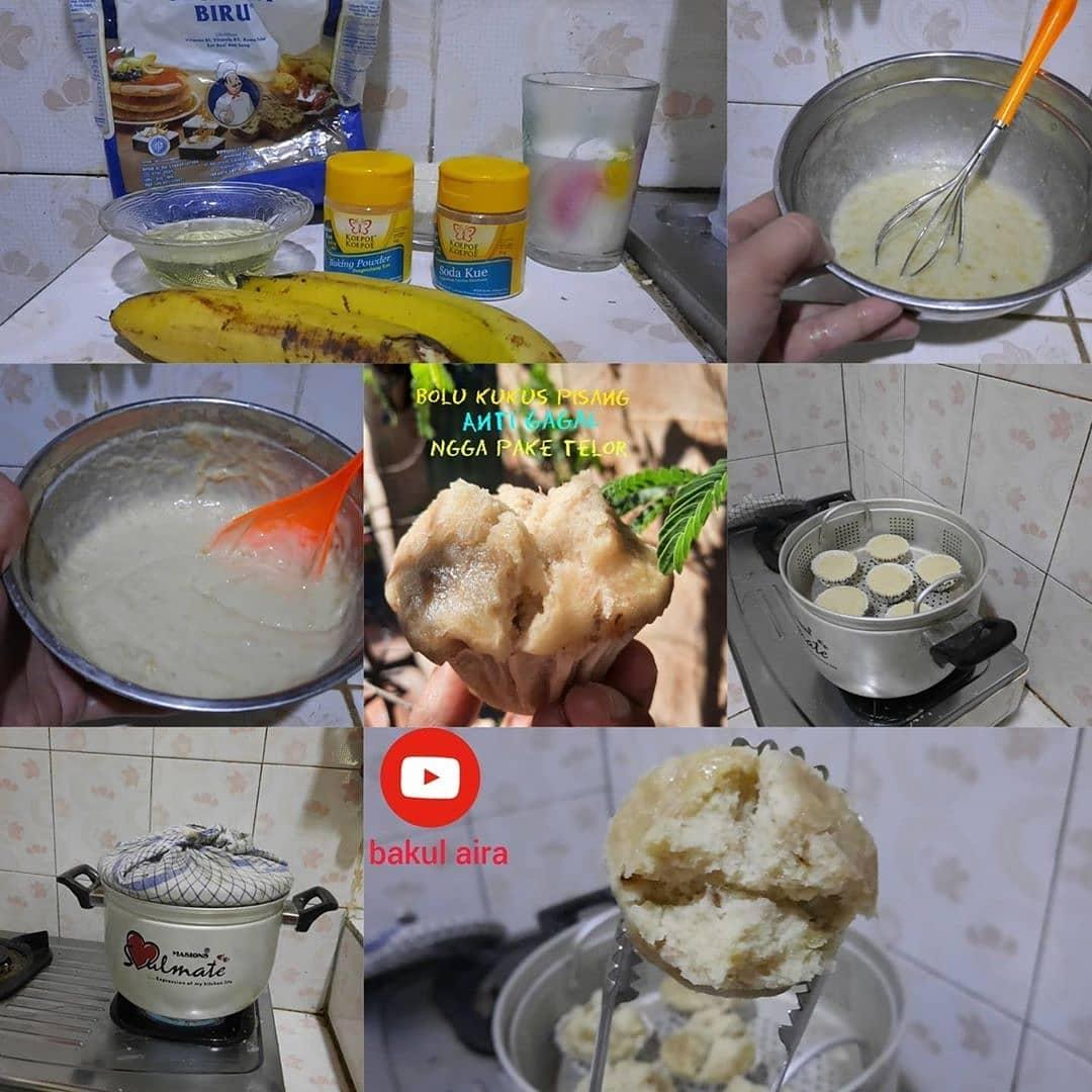 Steamed Banana cake