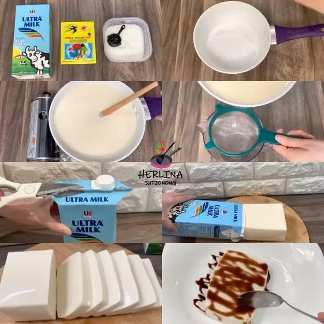 3 ingredients milkpudding